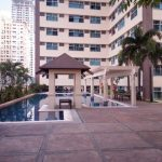 Swim in a full sized pool after work in Ermita, Manila